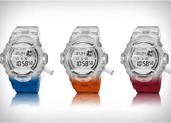 CIROC X CASIO G-SHOCK BREATHALYZER WATCH