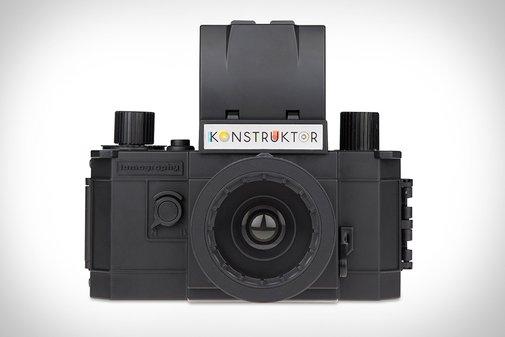 The Konstruktor: A Build-It-Yourself 35mm SLR Camera