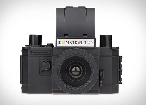The Konstruktor: A Build-It-Yourself 35mm SLR Camera
