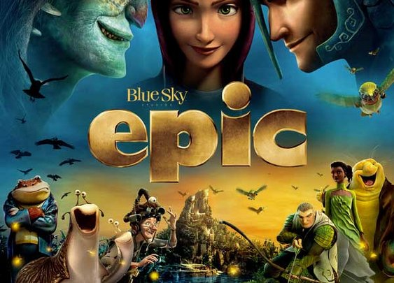 Movie Reviews from a Seven Year Old – Epic : 101 or Less