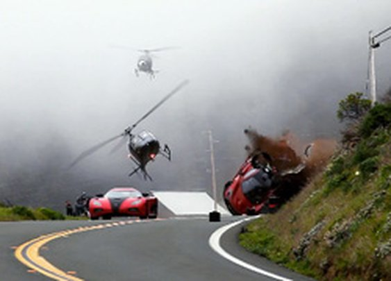Supercars Doin' Flips 'n Stuff: On-Set of the 'Need for Speed' Movie [Video] - The Crosby Press