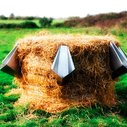 Flat-Pack Urinal: Composing Straw Bale for Outdoor Events