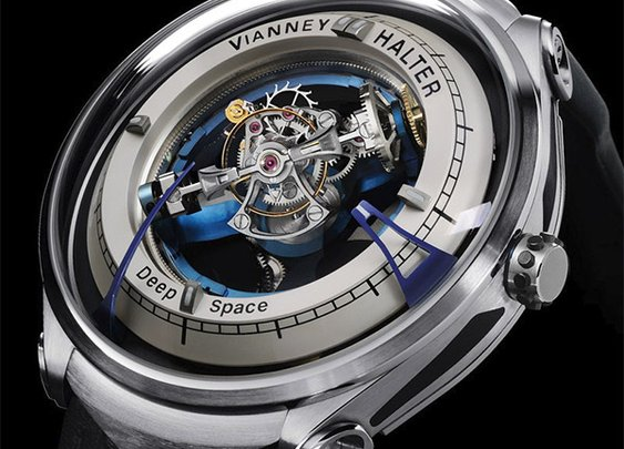 Vianney Halter Deep Space Tourbillon Watch