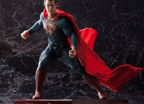 Kotobukiya Man of Steel Superman ArtFX Statue