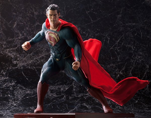 Kotobukiya Man of Steel Superman ArtFX Statue