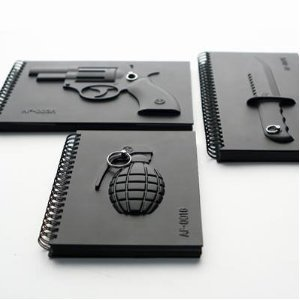 Armed Notebook