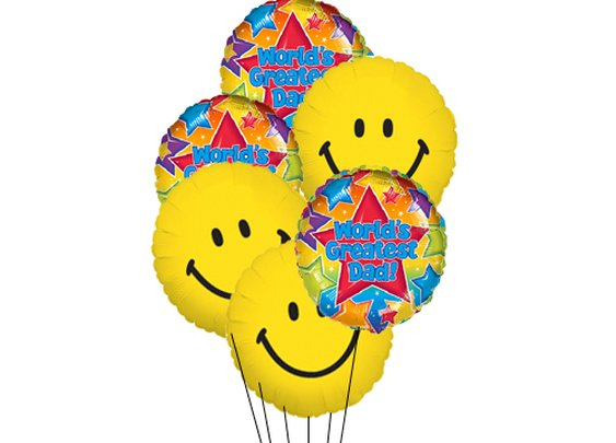 USA Balloons  - Happy Day for Dad