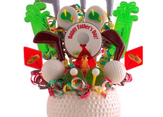 usa Lollipop Candies  - Fore! The Links Father'S Day Bouquet