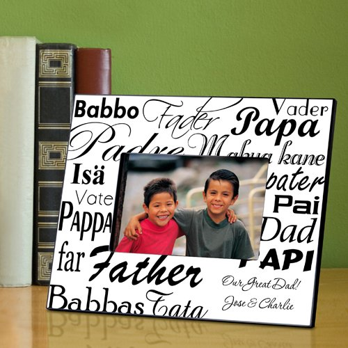 usa Personalized Gift  - Dad in Translation Frame