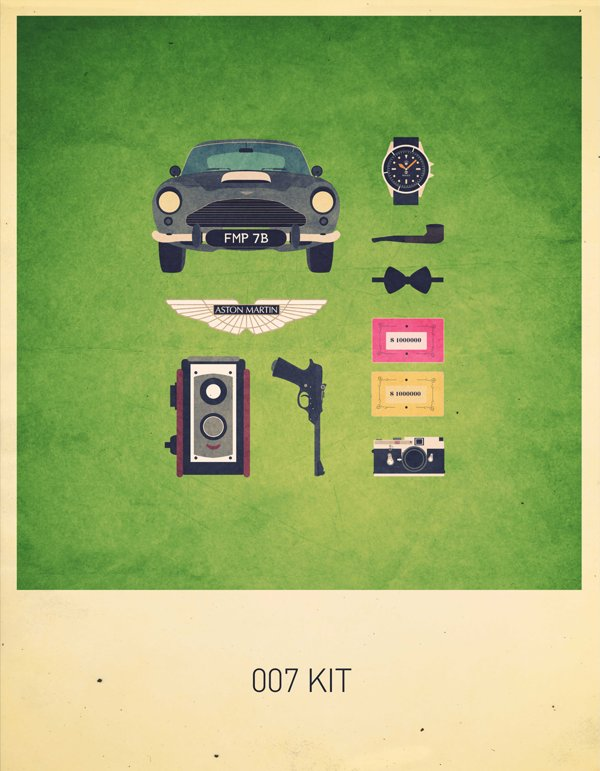 Movies Hipster Kits on Behance