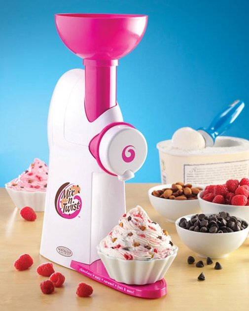 Nostalgia Electrics Mix 'N Twist Ice Cream & Toppings Mixer