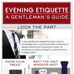 A Gentleman's Guide to Evening Etiquette