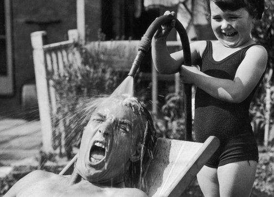 28 Awesome Historical Photos of Dads | Mental Floss