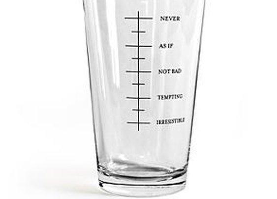 Single Beer Pint Glass
