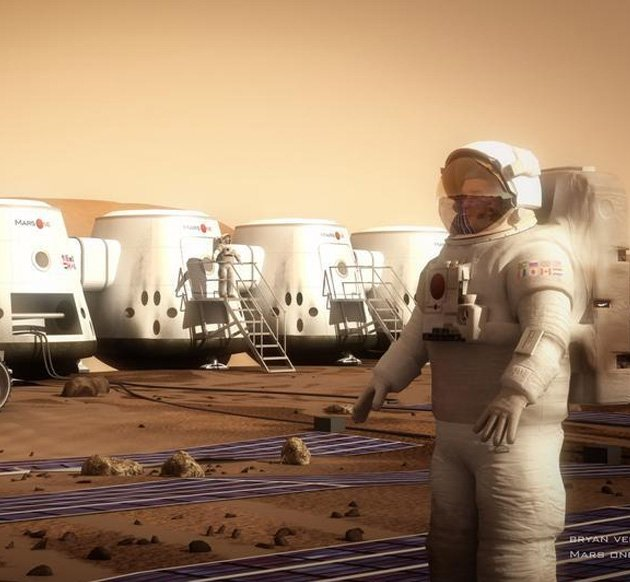 The First Humans On Mars