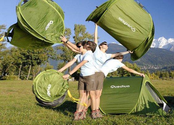 2 Second Pop Up Tent