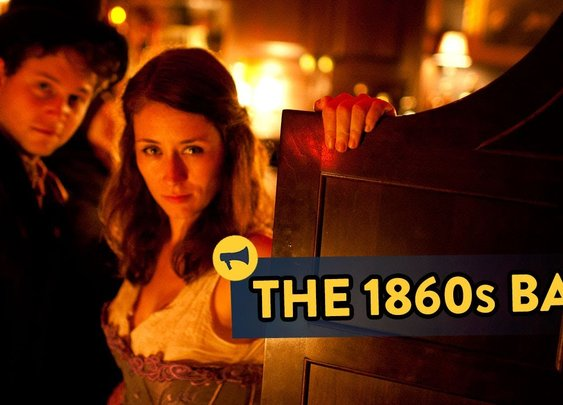 The 1860s Bar - Epic Time Travel Prank! - YouTube