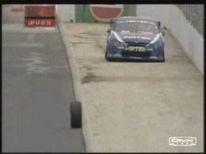 Tire Falls Off and Rolls a Full 200m at V8 Supercars [2008]