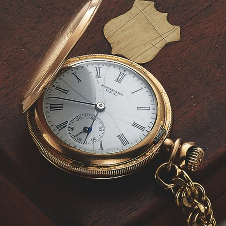 JAMES DEAN'S ELGIN POCKET WATCH