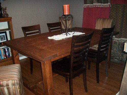 How to Make a Dining Room Table
