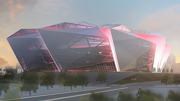 Falcons have initial approval to go forward with futuristic stadium design | Shutdown Corner - Yahoo! Sports