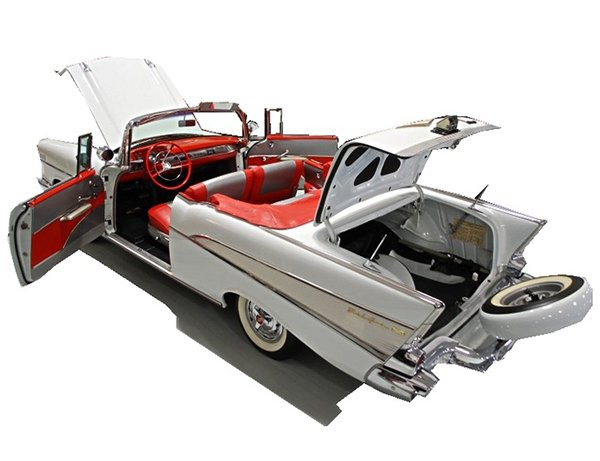Beautiful 1957 Chevrolet Convertible
