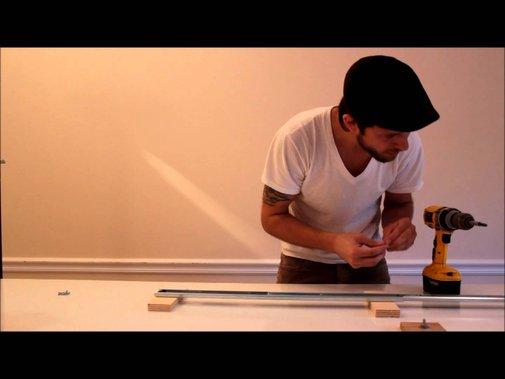 DIY  glide track / camera slider  tutorial - YouTube