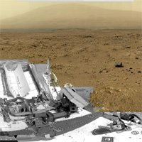Billion Pixel Photo of Mars Snapped by Curiosity