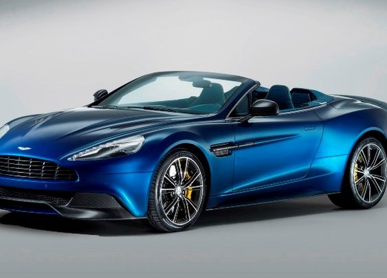 Aston Martin Vanquish Volante Convertible, New Dream V12 Roadster [Photos & Video] | NSTAutomotive