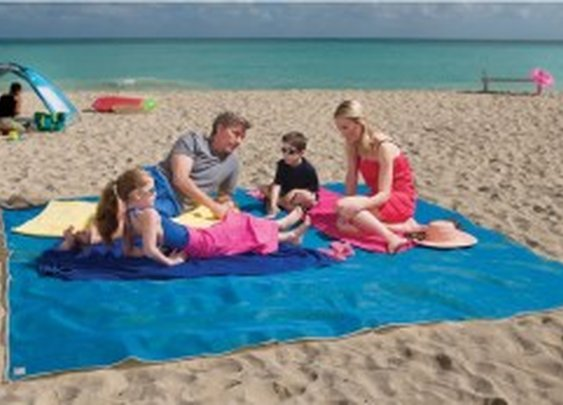 The Four Person Beach Mat