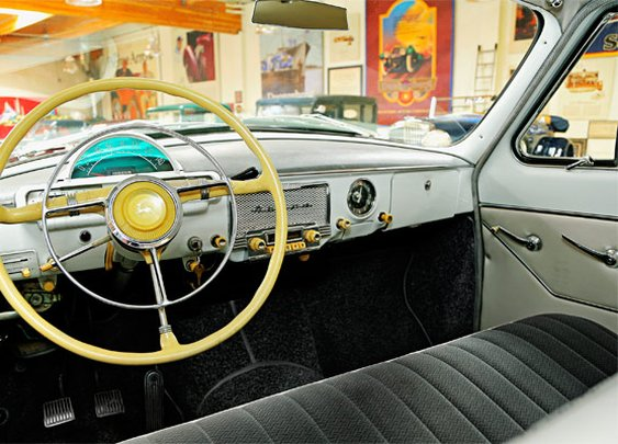 Soviet Sedan: Jay Leno's 1966 GAZ-21 Volga - Popular Mechanics