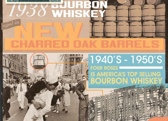 Four Roses   Toastworthy moments in Bourbon history   [infographic]