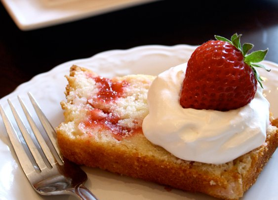 Rhubarb Strawberry Pound Cake | Easy Recipes for Real Life | Tastefully Simple
