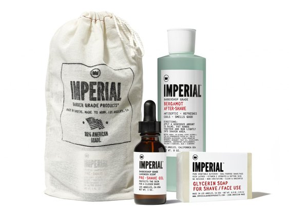 Shave Bundle. The Ultimate Five-Step Utility Shave System | Imperial Barber Products