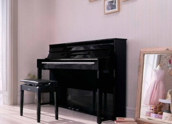Yamaha's NU1 is claimed to be world's first digital/acoustic hybrid upright piano