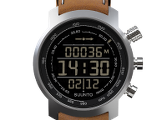 Suunto Elementum Terra Brown Leather - Suunto