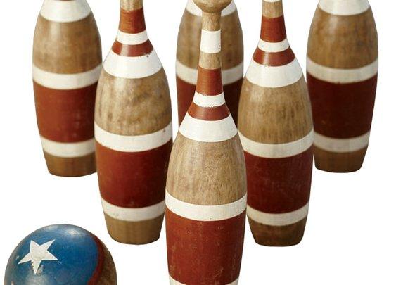 Vintage Bowling Set | That Should Be Mine