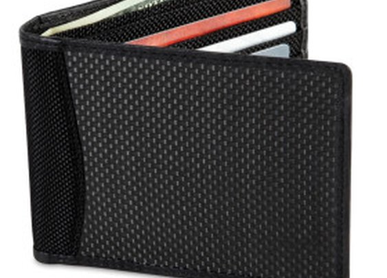 Anti-Identity Theft Carbon Fiber Wallet