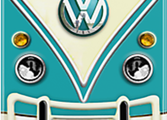 Blue Volkswagen Summer Dreams iPhone Case