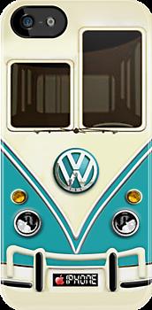 Blue Volkswagen Summer Dreams iPhone Case