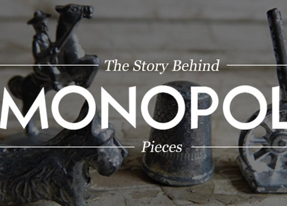 The Story Behind MONOPOLY Pieces | Cool Material