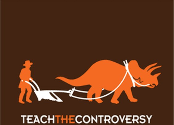 Dino-Human Coexistence T-Shirt from Teach the Controversy