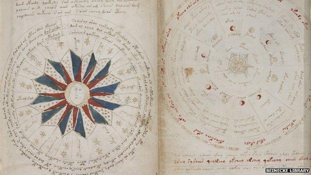 BBC News - Mysterious Voynich manuscript has 'genuine message'