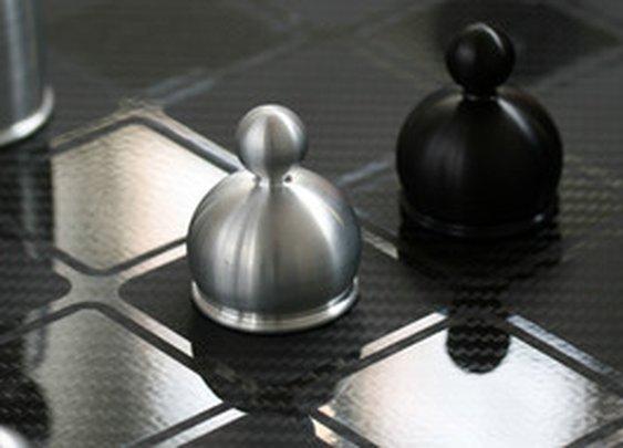 Mars Made Games | Custom Carbon Fiber Chess Set