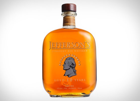 Jefferson's Straight Rye Whiskey | Uncrate