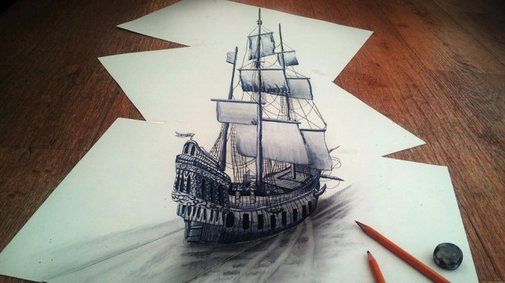 3D Pencil Drawings by Ramon Bruin | Cool Material