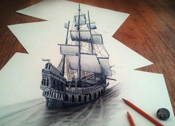 3D Pencil Drawings by Ramon Bruin | Cool Material