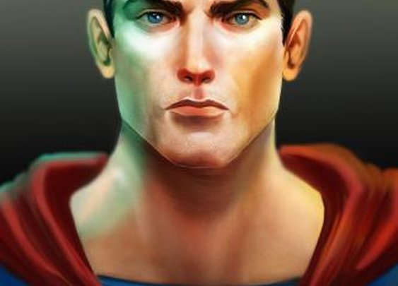 Superman Tribute by vic_lefou | Screensuit - Online Art Gallery