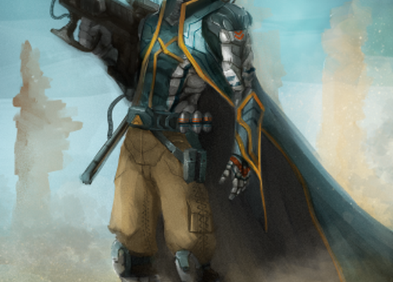Desert Soldier by vic_lefou | Screensuit - Online Art Gallery
