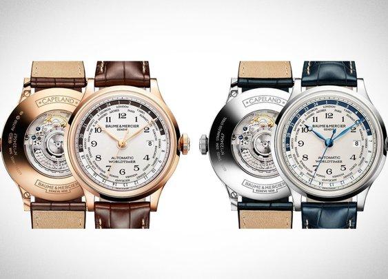 Baume & Mercier Capeland Worldtimer: Elegant O'Clock